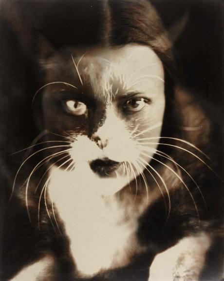 WANDA WULZ 'Io + Gatto' (Selbstporträt / Self-portrait), 1932