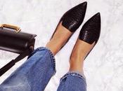 Point flats: ballerine slippers punta
