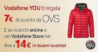 Promotions - Vodafone ti regala buoni Oviesse