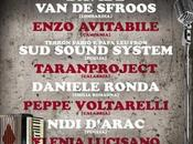 SOLETERRE FESTIVAL: ENZO AVITABILE Terron Fabio Papa SOUND SYSTEM aggiungono Davide Sfroos, Peppe Voltarelli, Nidi D'Arac, Taranproject, Daniele Ronda, Ylenia Lucisano