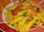 Garganelli gamberi zucchine