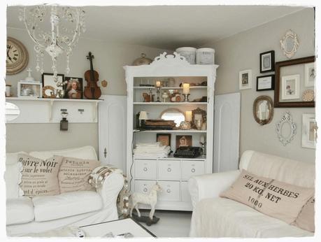 Una romantica casa shabby chic style in centro a vienna paperblog - Casa romantica shabby chic ...