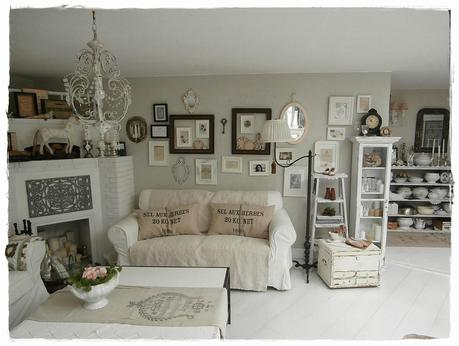 una romantica casa shabby chic style in centro a vienna paperblog. Black Bedroom Furniture Sets. Home Design Ideas