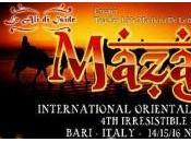"""""""Mazagat International Oriental Dance Festival"""": festival dedicato alla danza orientale, novembre, Bari"""