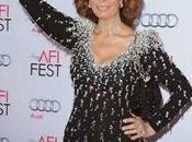 Giorgio armani veste sophia loren special tribute dell'american film institute fest 2014 angeles