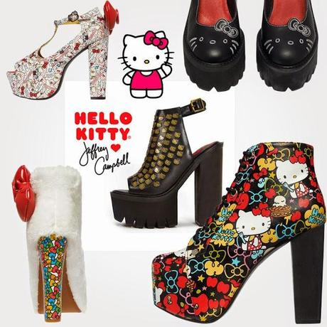 JEFFREY CAMPBELL FOR HELLO KITTY LIMITED EDITION 40TH ANNIVERSARY