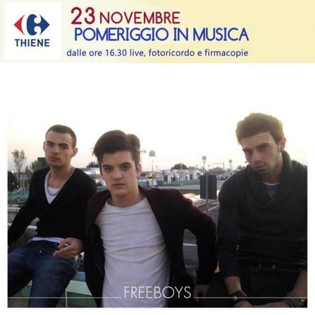 LA BOYBAND FREEBOYS IN CONCERTO A THIENE