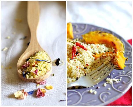 Cous cous ai fiori con zucca speziata al forno paperblog - Forno a microonde piccolissimo ...