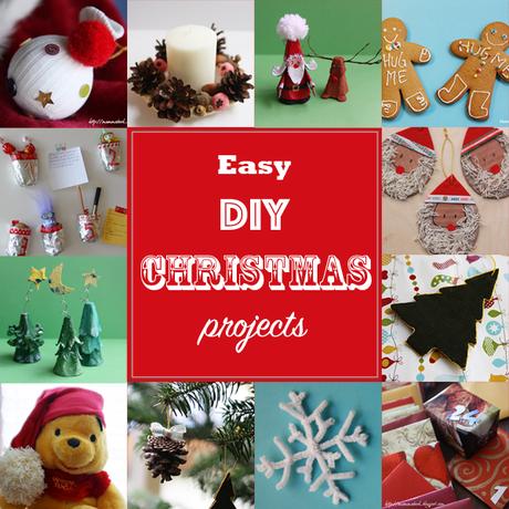 Decorazioni fai da te per il natale easy diy christmas - Decorazioni per il natale ...