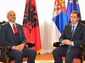 visita rama belgrado. albania serbia c'e' mezzo kosovo?