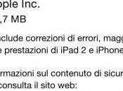 Apple rilascia 8.1.1 migliorare performance terminali vecchi