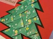 Teabag folding card albero Natale