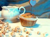 Muffins nero farina ceci.
