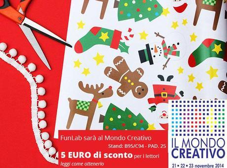Mondo creativo di bologna funlab offre 5 euro per i for Mondo bologna
