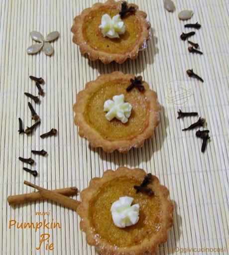 Mini Pie alla Zucca    Re-Cake