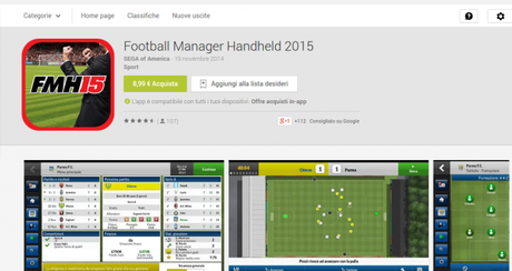 Football Manager Handheld 2015   App Android su Google Play