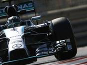 Dhabi. Rosberg pole, prima fila tutta Mercedes