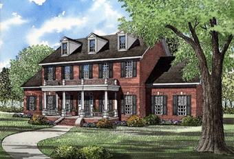 Struttura e architettura della casa vittoriana paperblog - Casa stile coloniale ...
