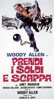 caso fuori piovendo? Prendi soldi scappa Woody Allen