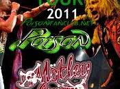 Motley Crue Annunciano tour 2011 Poison York Dolls (video)