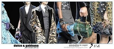 Le pagelle: DOLCE & GABBANA FALL WINTER 2011 2012