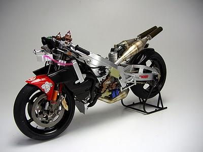 Honda NSR 500 S.Itoh 1999 by Hisashop Model Maker