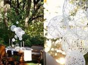 Merletti, sfere lanterne