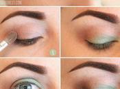Makeup abito verde