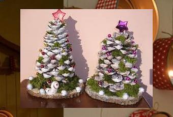 Decorare con le pigne l albero di natale paperblog - Centro tavoli natalizi con pigne ...