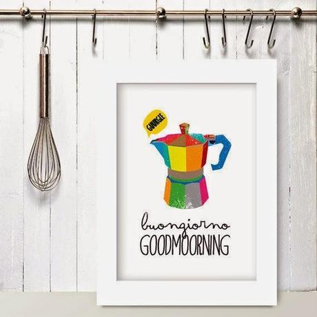 Home Inspiration: le stampe da appendere in cucina - Paperblog