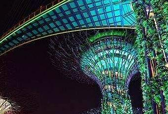 Supertree Grove Lighting Wonderful In Singapore Paperblog