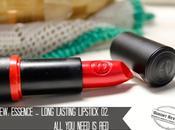 Winter coming!: Essence Long Lasting Lipstick, Need