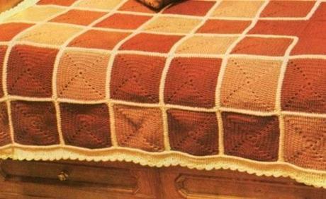 Piastrella esagonale all uncinetto tappeto all uncinetto con