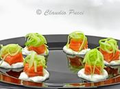 Salmone cotto salsa yogurt
