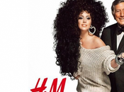 Lady Gaga Tony Bennet H&M's Holidays champaign