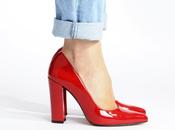 Vetrina Natale: scarpe fanno bling