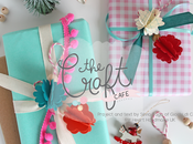 Christmas gift wrap {new post Craft Cafe}