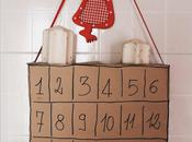 Calendario dell'Avvento Ricicloso