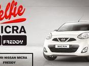 Concorso Nissan, vinci MICRA FREDDY selfie.