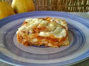 Lasagne zucca pancetta scamorza