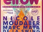 Sabato 2014 ElRow road Bolgia Bergamo. Djs: Nicole Moudaber, Marc Maya, Swing, Raul Mezcolanza.