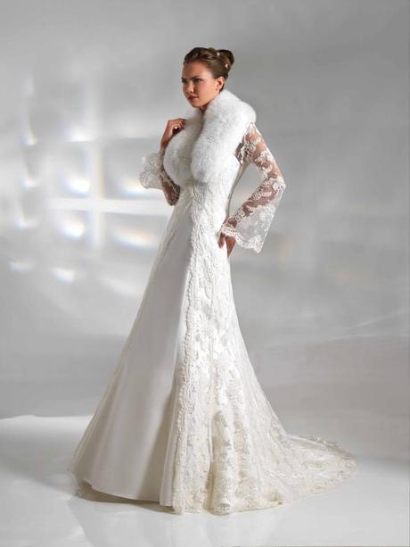 Abiti da sposa invernali per matrimonio civile