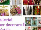 Natale tutorial decorare