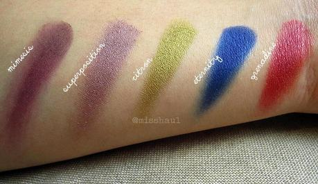 NABLA COSMETICS GENESIS COLLECTION | SWATCHES AND COMPARISON