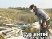 Carlentini: 'collina della morte', discarica amianto fonte agli agrumeti, servizio Striscia Notizia