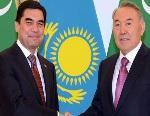 Turkmenistan. Berdimuhamedov Nazarbayev Ashgabat parlano Afghanistan