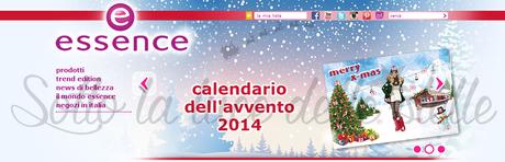 Promotions - Essence: Calendario dell'Avvento 2014
