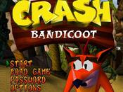 Naughty parla Crash Bandicoot Playstation