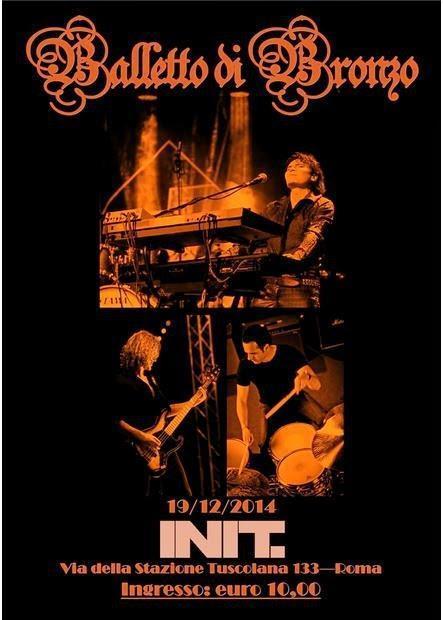BALLETTO DI BRONZO LIVE: 19 Dicembre, Roma
