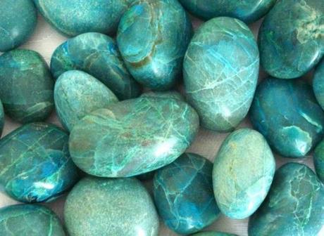 L' ABC per creare (Quattordicesima parte): Classificazione pietre dure colorazione verde scuro